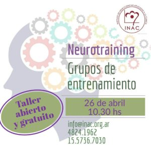 taller neurotrainning 26.4.2019